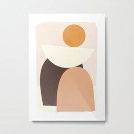Abstract Shapes 62 Metal Print
