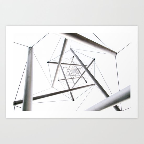 Infinite Geometry Art Print