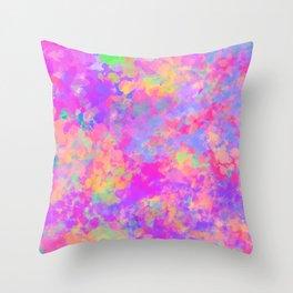 Rainbow Daydream Throw Pillow