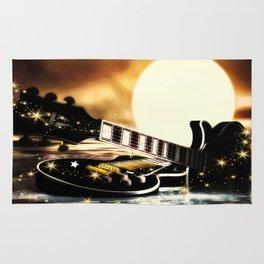 Gitarren bei Vollmond Rug
