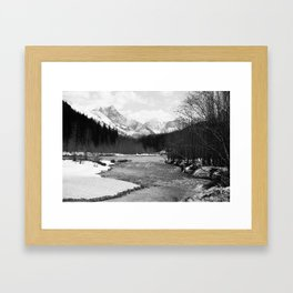 Flathead and Glacier Framed Art Print