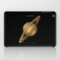 saturn iPad Cases featuring Saturn by Terry Fan