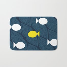 Be Different, Be Happy Bath Mat