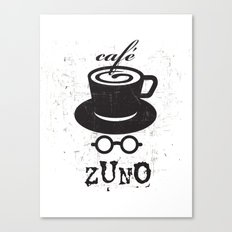 Cafe Zuno Canvas Print