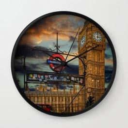 Big Ben London City Wall Clock