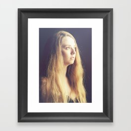 It Came to Her in a Dream Framed Art Print