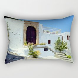Entrance to the house Rectangular Pillow