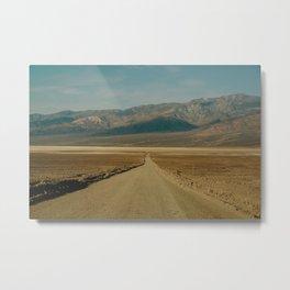 long desert road Metal Print