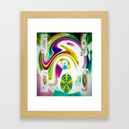 Abstract Perfection 25 Framed Art Print