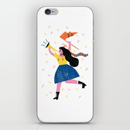 Your Own Personal Cheerleader iPhone Skin