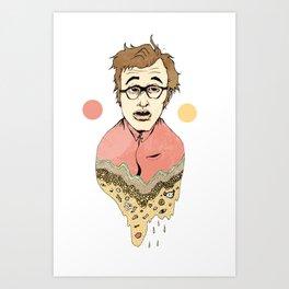 Woody Allen's Ghost Art Print