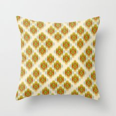 60's Pattern Throw Pillow