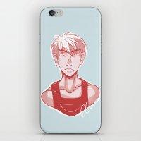 kuroko iPhone & iPod Skins featuring Kagami by KlMlKO