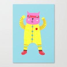 Happy Cat! Canvas Print