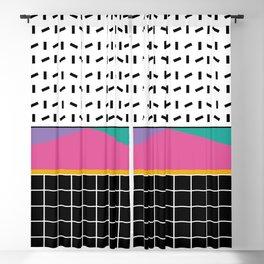 Memphis Pattern 34 / 80s - 90s Retro Blackout Curtain