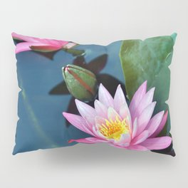 Lotus Blossoms Pillow Sham