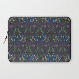 Kingfisher & Thistles (purple) Laptop Sleeve
