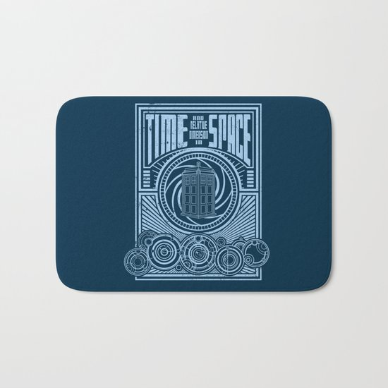 Time and Space Bath Mat