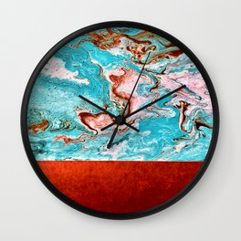 Earth and the Sky Wall Clock