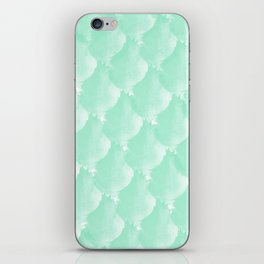 Mint Scallop iPhone Skin