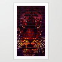 Majestic Tiger Art Print