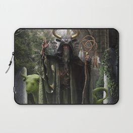 V. The Hierophant Tarot Card Illustration (Color) Laptop Sleeve