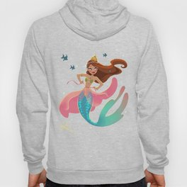 Mermaid Playing Dress-Up Hoody
