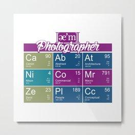 ae'm Photographer Metal Print