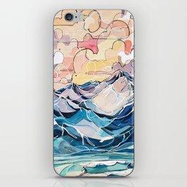 Sunrise, Surf, and Ridgelines iPhone Skin