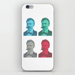 Friedrich Nietzsche iPhone Skin