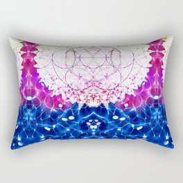 Flower of Life - Fractal Image Rectangular Pillow