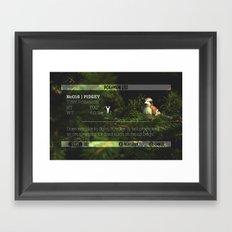 PIDGEY's data was added to the POKéDEX Framed Art Print