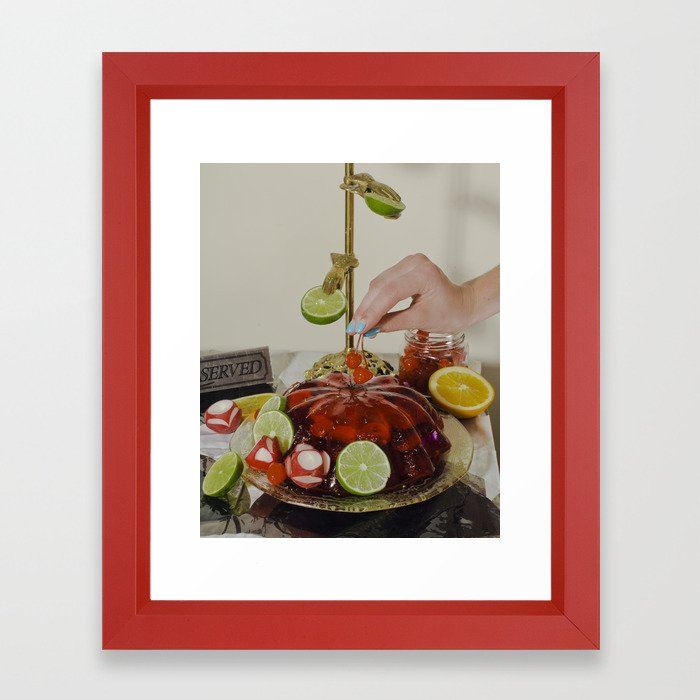 You'll Eat It And You'll Like It- Cherries Framed Art Print