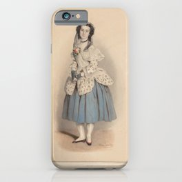 Kaiser Eduard  ArElisa Albert Bellon im Ballet Manon Lescaut in der TitelrolleAdditional Manon Lescaut iPhone Case