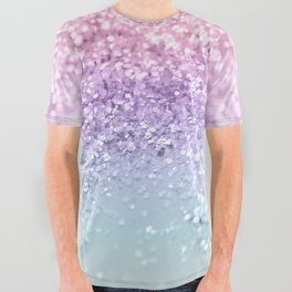 Unicorn Girls Glitter #1 #shiny #pastel #decor #art #society6 All Over Graphic Tee