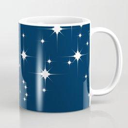 Mid Century Starry Night Coffee Mug