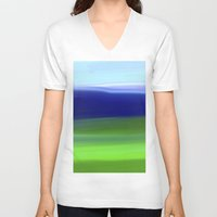 voyage V-neck T-shirts featuring Voyage by Ordiraptus