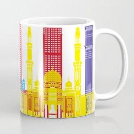 Dubai skyline pop Coffee Mug