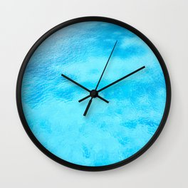 Crystal water color Wall Clock