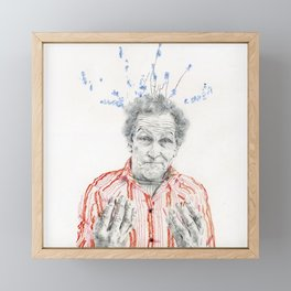 Monty Don: TV Gardener Framed Mini Art Print