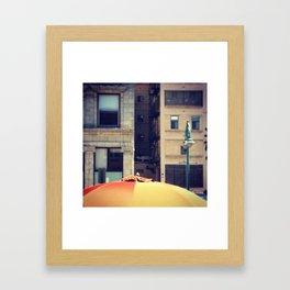 MKE: Cream Brick City  Framed Art Print