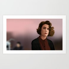 Portrait Donna Art Print