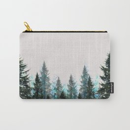 MOUNTAIN FOREST PINES LANDSCAPE  ART Carry-All Pouch