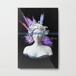 Medusa color blast  Metal Print