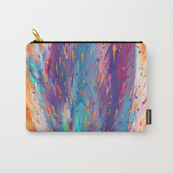Colorful Fire Carry-All Pouch