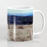 tennessee Mugs featuring Tennessee Landscape by Raffaella315