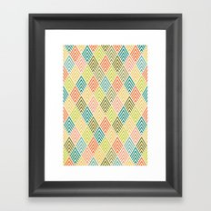 Citronique Series: Forêt Sorbet Framed Art Print