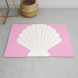 Seashell (White & Pink) Rug