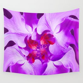 Abstract Orchid In Lavender Wall Tapestry
