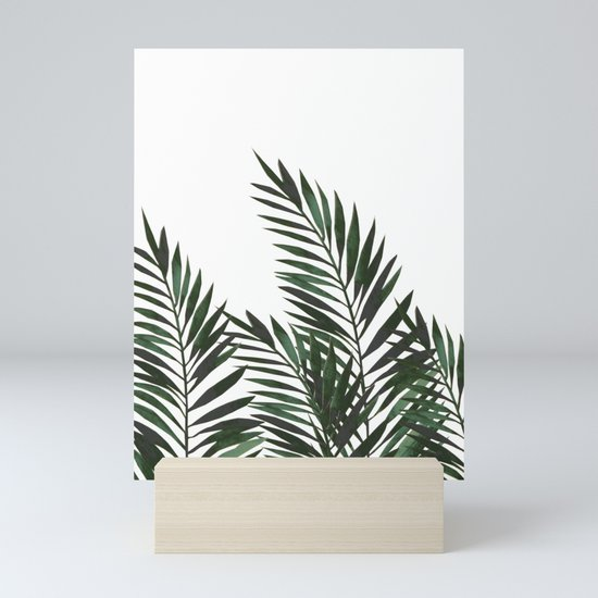 Palm Leaves Green by lavieclaire